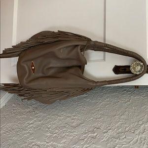 Elliot Lucca boho fringe handbag